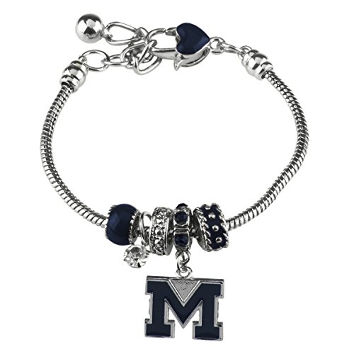 Sandol Michigan Wolverines MVP Charm (Michigan Wolverines School Charm)
