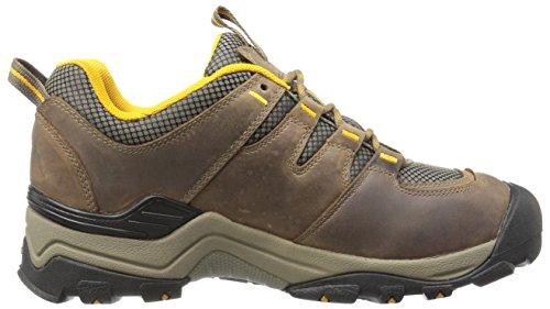 Keen Gypsum Ii Wp, Zapatos de Low Rise Senderismo para Hombre Marrón