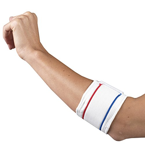 CHAMPION Tennis Elbow Strap, White by Champion