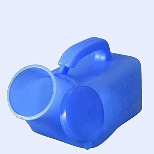 便器 便器男性便器大容量1000mlのカバーデザインデオドラント、クリーン長距離運転ホスピタルケア旅行キャンプにポータブル便器簡単漏れ防止 ユニセックス便器
