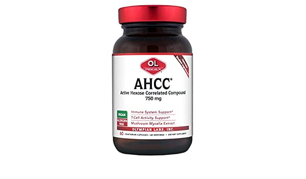 Olympian Labs - Ahcc-750mg, 750 mg, 60 capsules
