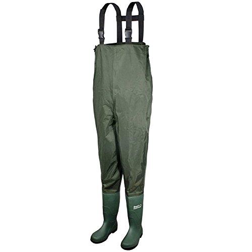 Galeton 13114-10-GR Repel Footwear Chest Wader Boots, Men