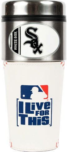 - Great American Products Chicago White Sox MLB 16oz Baseball Travel Tumbler