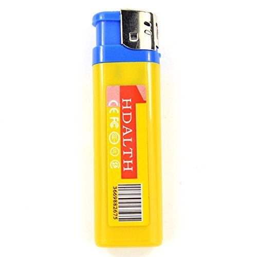 Totoab Novelty Lighter Digital DVR Hidden Camera Camcorder Video Photo Recorder USB Mini DVR (Dvr Spy Lighter)