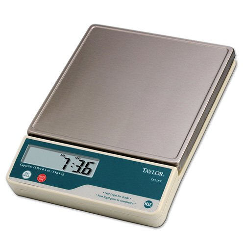 Taylor Precision Products Digital Portion Control Scale with Calibration Feature (11-Pound)