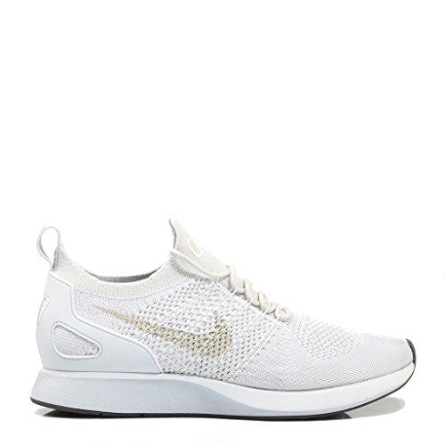 Nike Herren Air Zoom Mariah Flyknit Racer Weiß Mesh Sneaker Schwarz (Black/White)