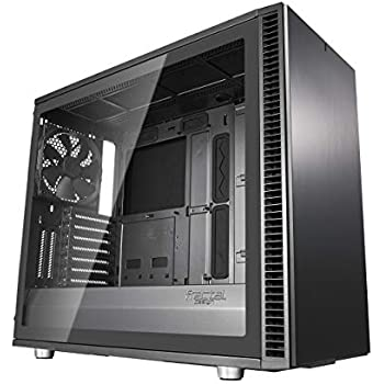 Fractal Design Define S2 - Mid Tower Computer Case - High Airflow and Silent - PSU Shroud - Modular Interior - Water-Cooling Ready - USB Type C - Light Tint Tempered Glass Side Panel - Gunmetal Tg