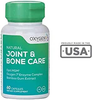 OsteoActives Formula by Oxygen Nutrition | All-Natural Dietary Support for Joints, Bones and Connective Tissue - 60 Count Pill Bottle- Vegetable Capsules (Packaging May Vary)