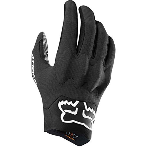 Fox Racing Attack Glove - Men's Black, M (Gloves Attack Cycling)