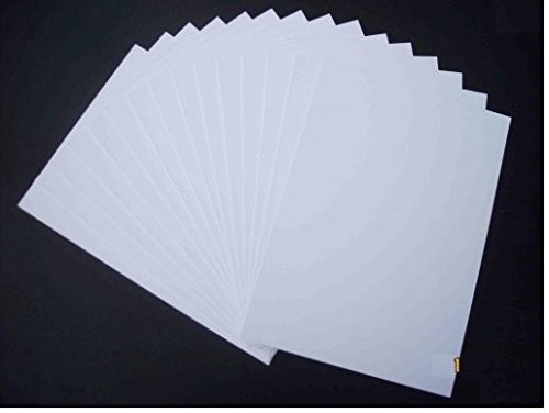 A4 Mount Board White (Pack of 10)1500 micron Double side white board Craft Card 1500mic 1.5mm Protecatfile