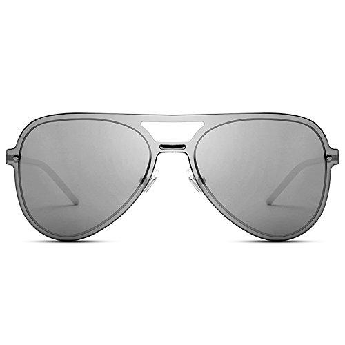 soleil MAHZONG Lunettes Conduire Couleur Ultralight Personnalité Avant Grenouille Bleu de Gris Miroir de garde Lunettes Sunglasses soleil Hommes Sunglasses 7Fqwr57Zx