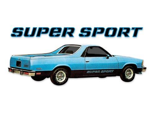 1978 1979 1980 1981 1982 1983 Chevrolet El Camino SS Decals & Stripes Kit - Blue ()