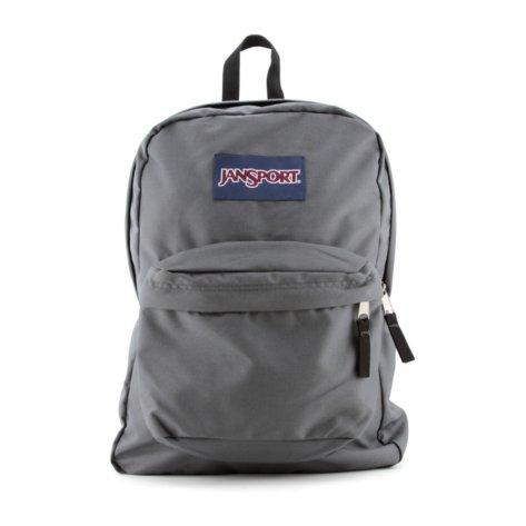 Jansport Superbreak School Backpack Original Select Color: Forge Grey