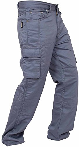 Newfacelook New Motorcycle Working Cargo Trousers Jeans for sale  Delivered anywhere in USA