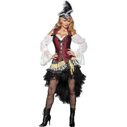 Black and white pirate dress