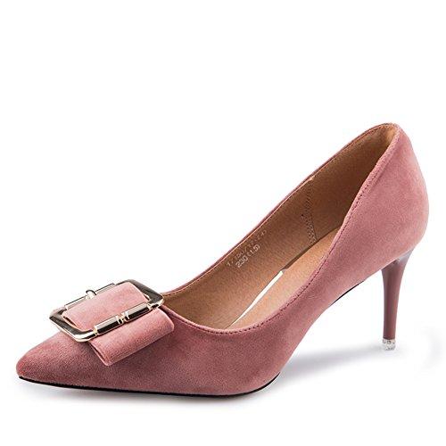Spring cut Heels Heel Dünne High Low Schuhe Schuhe Ladies rrS4YqW