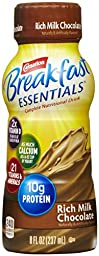 Carnation Breakfast Essentials Instant Breakfast Ready to Drink, Chocolate-8 ounces, 6pk