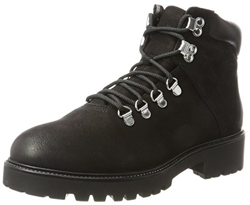 Lace up Suede Boots Black Womens Combat Military Vagabond Army Kenova Ankle XnIxgSw4