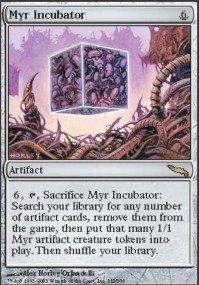 (Magic: the Gathering - Myr Incubator - Mirrodin -)