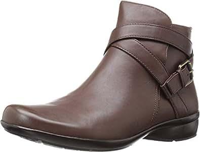 Naturalizer Women's Cassandra Ankle Bootie, Brown, 4 M US