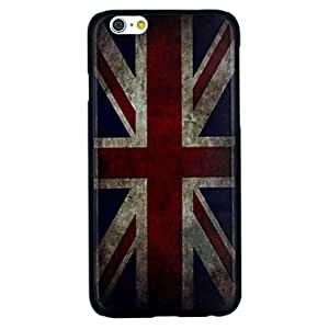 CuteFaiy Cases For Apple Iphone The Retro National Map of U.K. Pattern PC Hard Back Cover Case for iPhone 6