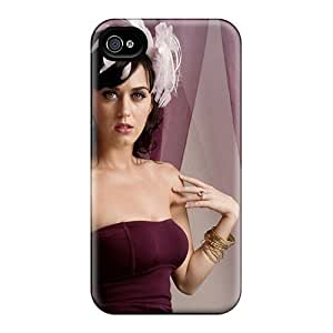 New Tpu Hard Case Premium Iphone 4/4s Skin Case Cover(katy Perry 26)