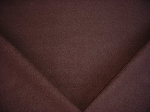 102C8 - Raisin Lined Brushed Cotton Designer Upholstery Drapery Fabric - By the Yard ()