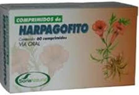 Soria Natural Harpagofito Minerales - 60 Cápsulas