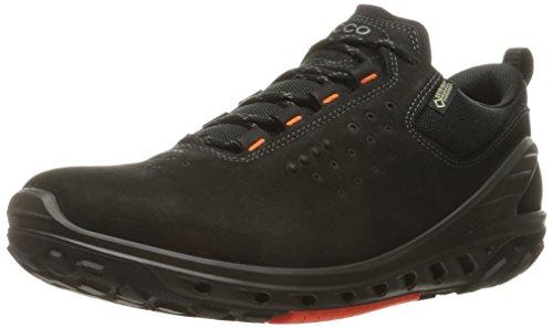 ECCO Men's Biom Venture Leather Gore-TEX Tie Hiking Shoe Black, 44 EU/10-10.5 M US