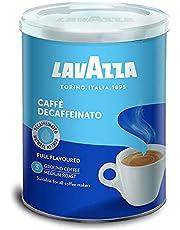 Lavazza Decaf Ground Coffee Medium Roast 250g Tin