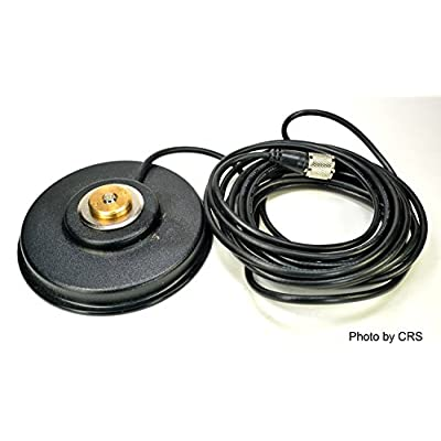 Workman PM5-NMO CB Radio Antenna Magnet Mount with PL-259 Plug & 16` Foot Coax: Electronics