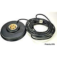 Workman PM5-NMO CB Radio Antenna Magnet Mount with PL-259 Plug & 16` Foot Coax