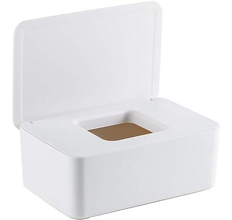 Euopat Caja De Servilletas, Caja Dispensadora De Toallitas Caja De Toallitas para Bebés, Caja Portátil De Viaje para Pañuelos Húmedos para El Hogar: Amazon.es: Hogar