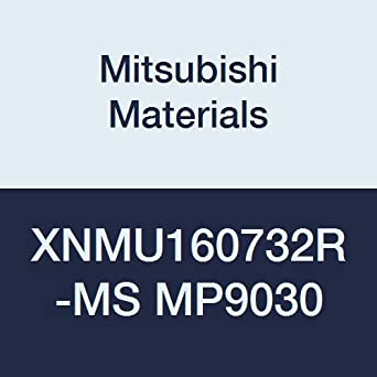 Round Honing Special Design Class M Pack of 10 Coated Mitsubishi Materials XNMU160732R-MS MP9030 Carbide Milling Insert 0.256 Thick 0.126 Corner Radius