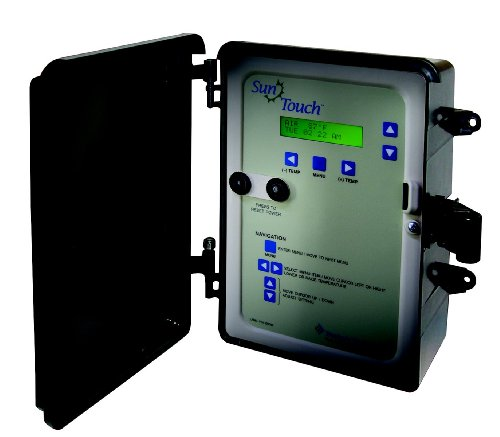 Pentair 520820 SunTouch 2-Actuators 2-Temperature Sensor Pool and Spa Control System, Black/Grey by Pentair