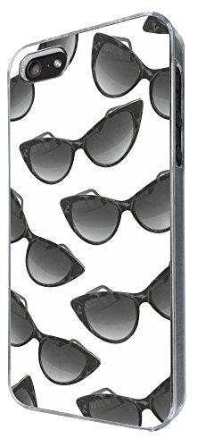 778 - Multi Sunglasses Fun Design iphone 5 5S Coque Fashion Trend Case Coque Protection Cover plastique et métal