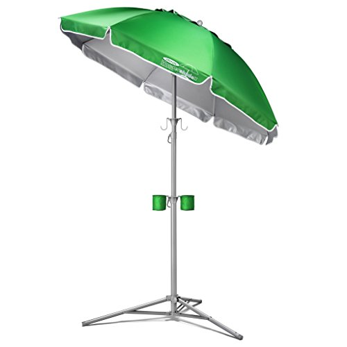Wondershade Ultimate, Portable Sun Shade, Green (Best Turf For Shade)