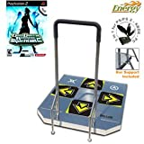 DDR SuperNova 2 for PS2 and Dance Dance Revolution ENERGY Arcade metal dance pad for PS/ PS2 - Xbox
