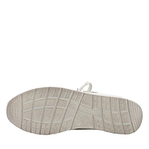 Jenny Baskets Femmes 22-52403-13 - Tennis - 3.5 AU 6.5 Mehrfarbig (Weiß) DbWRic5Mwg