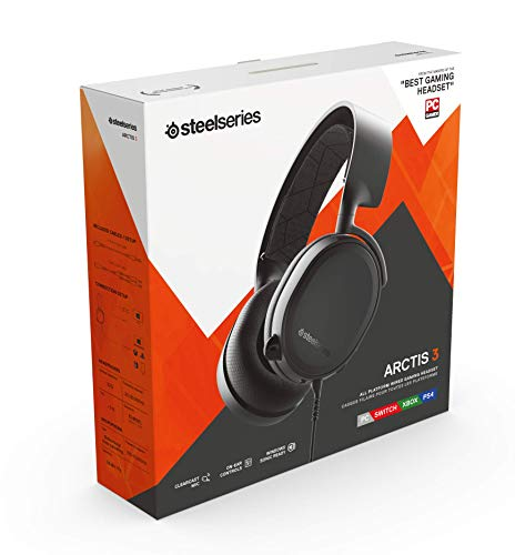 6334df534f0 ... PlayStation SteelSeries Arctis 3 (2019 Edition) All-Platform Gaming  Headset for PC, ...