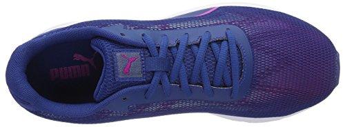 Puma Engine Wns, Zapatillas de Running para Mujer Azul (True Blue-ultra Magenta 01)