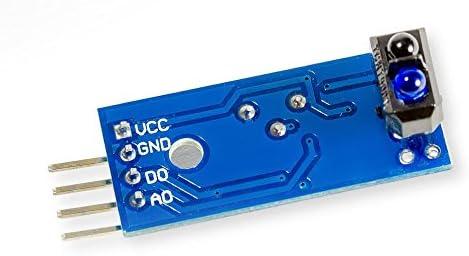 TCRT5000 infrarrojo IR Barrera de luz Reflex Barrera de luz para ...