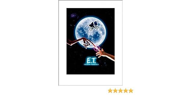1art1 ET - El Extraterrestre - Cartel De Cine Póster Impresión Artística (80 x 60cm)