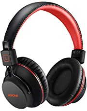 Mpow 059 Lightweight Version Bluetooth Headphones, Over-Ear Wireless Headset More Compact for Sport, Powerful Bass and Wired Mode for PC/Cell Phones