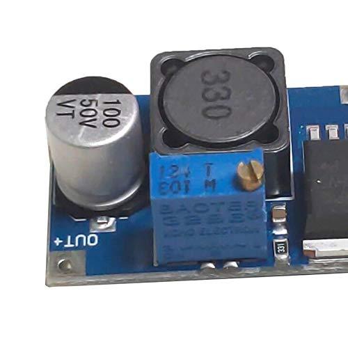Blau Hw-677 Q65 48V verstellbares Abw/ärtsmodul Dc-Lm2596Hvs Eingang 4.5-50V Spannungswandler Stabilisator Netzteil Buck-Modul