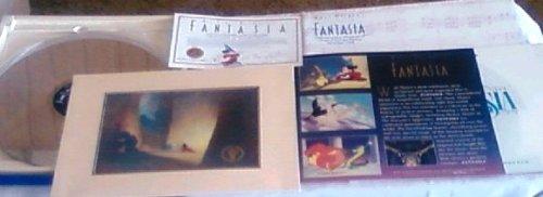 Fantasia Deluxe Laser Disc Disney 50th Anniversary Commemorative Program Records
