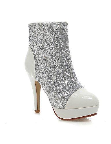 de Femme Chaussures Femme Bottes Chaussons Forme Plate décontracté Citior Stiletto pour pour Talon Mode Chaussons red vqt5wnxCR