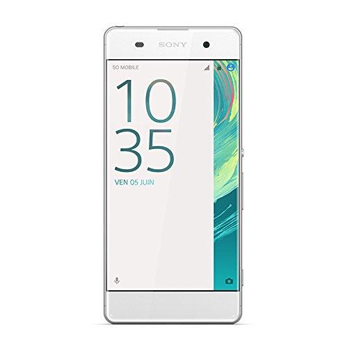 Sony 1303-0334 Xperia XA Dual-SIM Smartphone (16 GB, 12,7 cm (5 Zoll), HD Display, Android 6.0) weiß