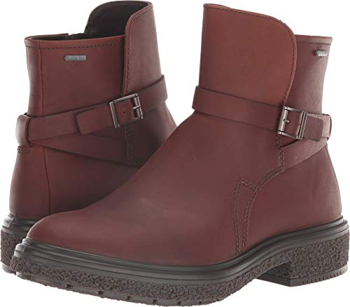 ECCO Women's CrepeTray Gore-TEX Ankle Boot, Rust, 39 M EU (8-8.5 US)