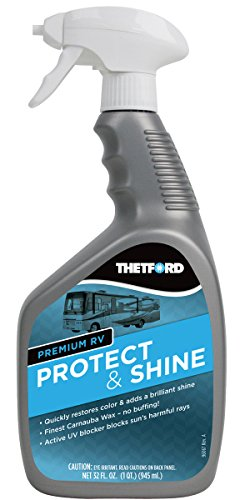 Thetford Premium RV Protect and Shine - Carnauba Wax treatment for RVs/Cars / Boats/Motorcycles - 32 oz 32755
